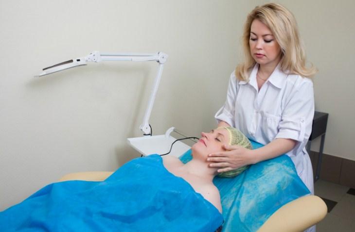 прием у дерматолога