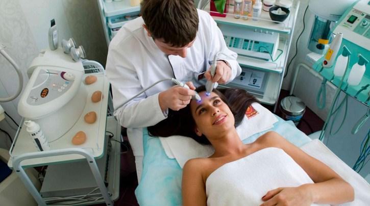 посещение косметолога